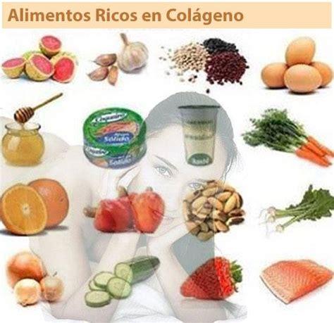 cuales son los alimentos ricos en colageno alimentos paracom