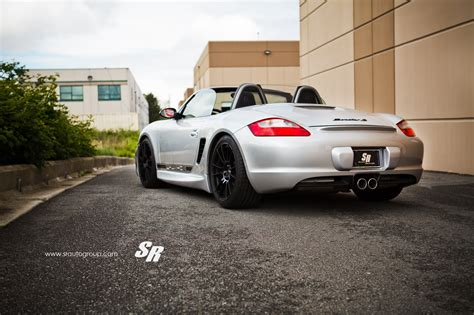 porsche modified ultraleggera hlt 19 quot on porsche boxster s ozracing itech