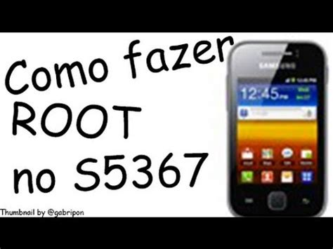Samsung Galaxy Y Tv S5367 como fazer o root no samsung galaxy y tv s5367
