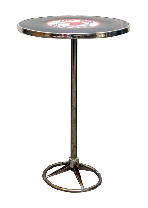 round bar top table round red sox bar top table olde good things