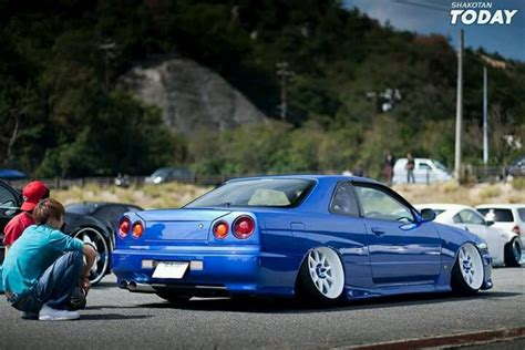 stanced nissan skyline stanced r34 skyline yes or no