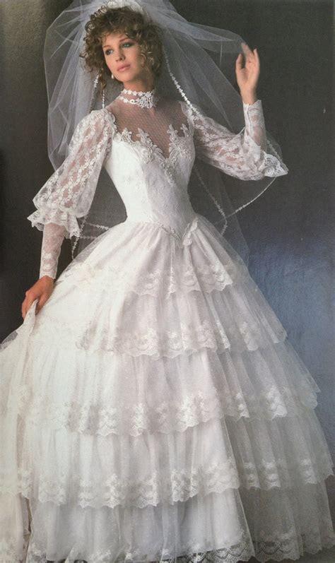 Brautkleider 80er by 80s Fashion Exclusive The 11 Worst Wedding Gowns