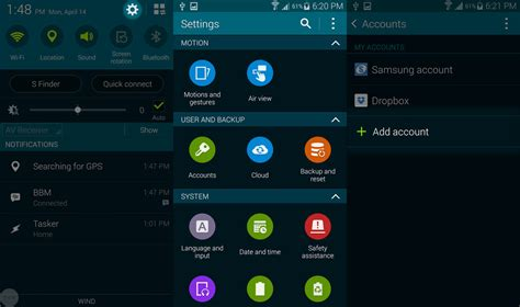 android samsung galaxy s5 how to set up accounts on the samsung galaxy s5 android central