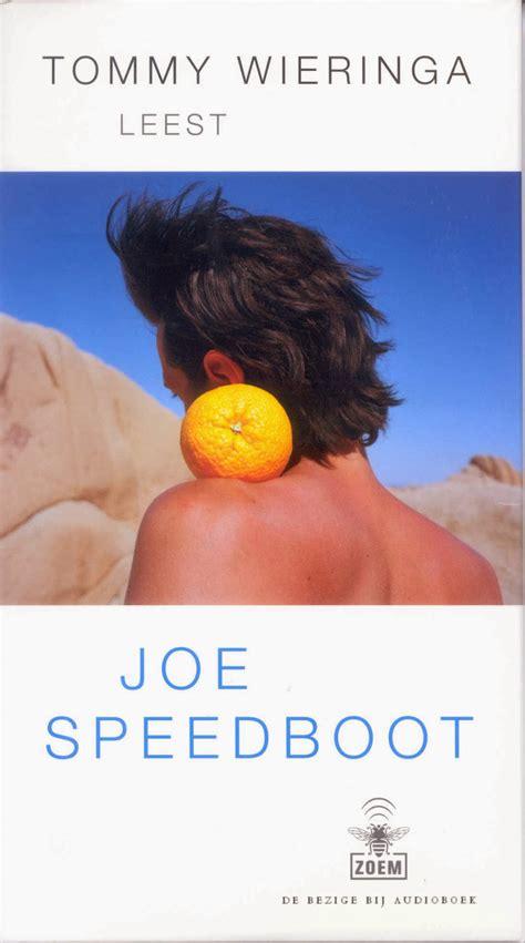 joe speedboot boek leesdossier eske ruijters