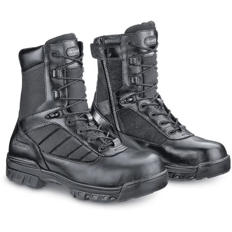 s bates 174 8 quot tactical side zip boots black 95999
