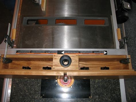 homemade router fence woodworking talk woodworkers forum