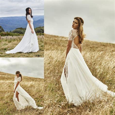Brautkleider Bohemian by Popular Bohemian Wedding Dress Buy Cheap Bohemian Wedding