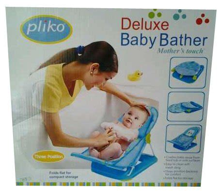 Deluxe Baby Bather Pliko By Mimito jual beli new dudukan mandi bayi baby bather pliko deluxe