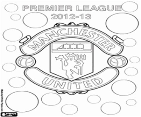 manchester united soccer coloring pages coloring pages