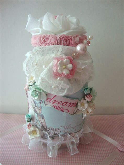 shabbychicjcouture shabby chic altered glass jar using wild orchid crafts