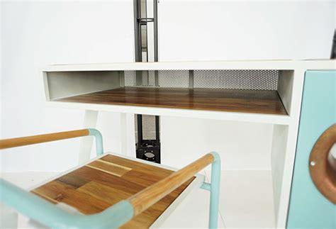 cool soundbox desk for smartphone home design and interior