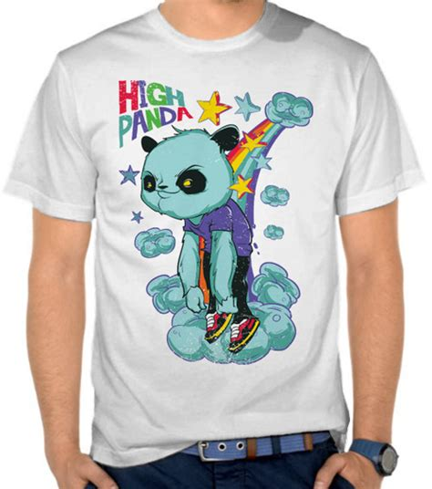 Kaos High As jual kaos high panda fantasi satubaju