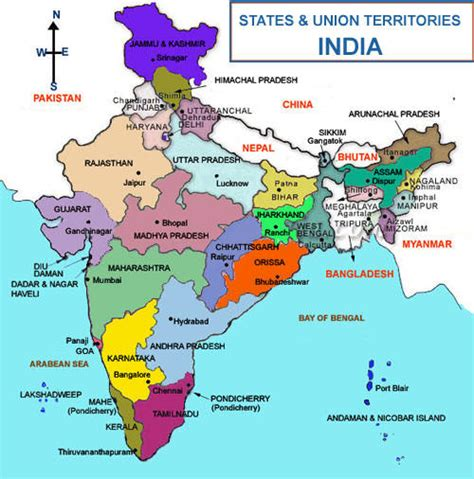 india map with country names india travel agents offers india tours packageindia travel