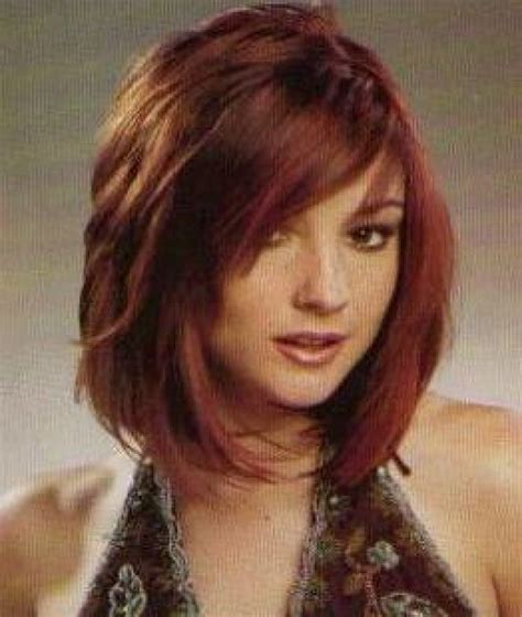one length thick chunky bob 17 best ideas about medium length layered hairstyles on