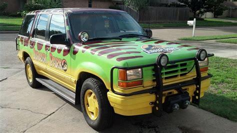 jurassic vehicles jurassic park vehicle replica