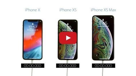 boot speed test iphone xs max vs iphone xs vs iphone x iclarified