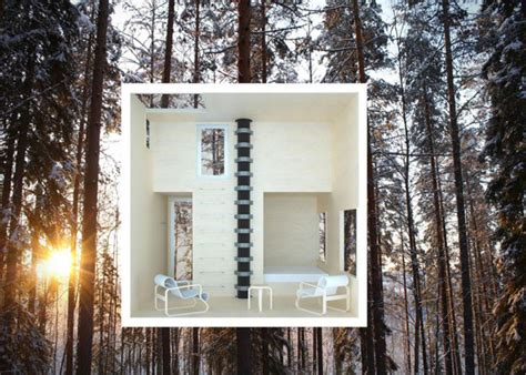 tree hotel sweden mirrorcube tree hotel in sweden hiconsumption