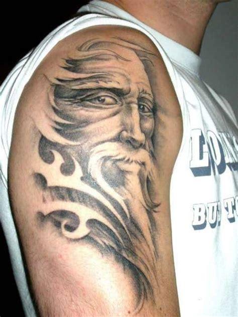 wizard tattoo blown wizard