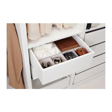 Wardrobe Drawers Inserts - komplement drawer white sleeve the closet and closet