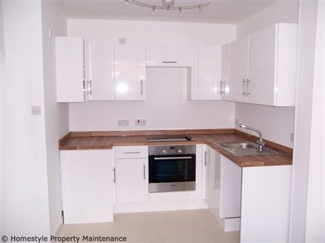 Kitchen Design For Small Flat Kitchen Fitting In Verwood Ringwood Wimborne Ferndown Bournemouth Poole Homestyle