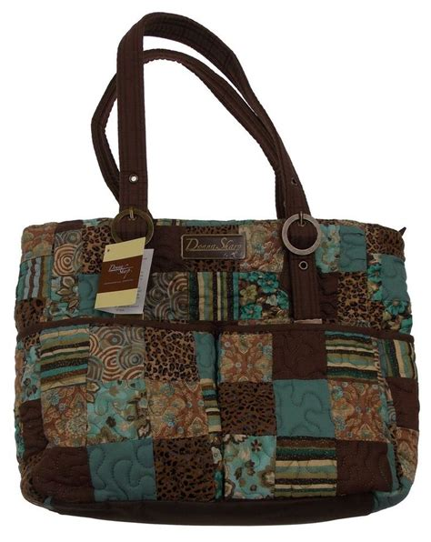 Donna Sharp Quilted Purses by Donna Sharp Topaz Elaina Handbag Purse Quilted