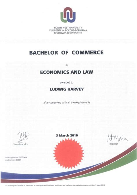 To Get Mba Bs Or Ba In Economics Major by Bachelor Of Commerce In Economics And Degree 2