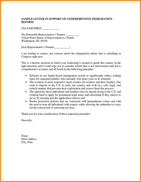 Support Letter Sles For Immigration 5 immigration letter of support for a friend sales slip template