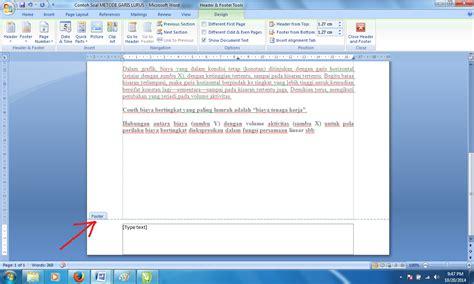 membuat catatan kaki pada word panduan sederhana microsoft office 2007 cara membuat