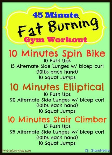 17 best ideas about burning workout on