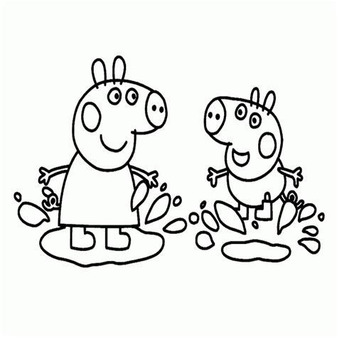 imagenes para colorear de peppa 10 dibujos para colorear peppa pig online