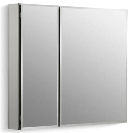 kohler kitchen cabinets kohler frameless medicine cabinets kohler k cb clc3026fs silver aluminum 30 quot x 26 quot double