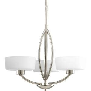 progress lighting calven collection 4 light brushed nickel bath light p3236 09wb the home depot progress lighting calven collection 3 light brushed nickel chandelier p4537 09 the home depot