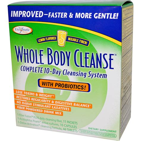 10 Day Mild Detox by Whole Cleanse 1 Kit By Enzymatic Therapy At The