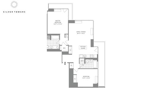 silver towers floor plans silver towers rentals new york ny apartments com