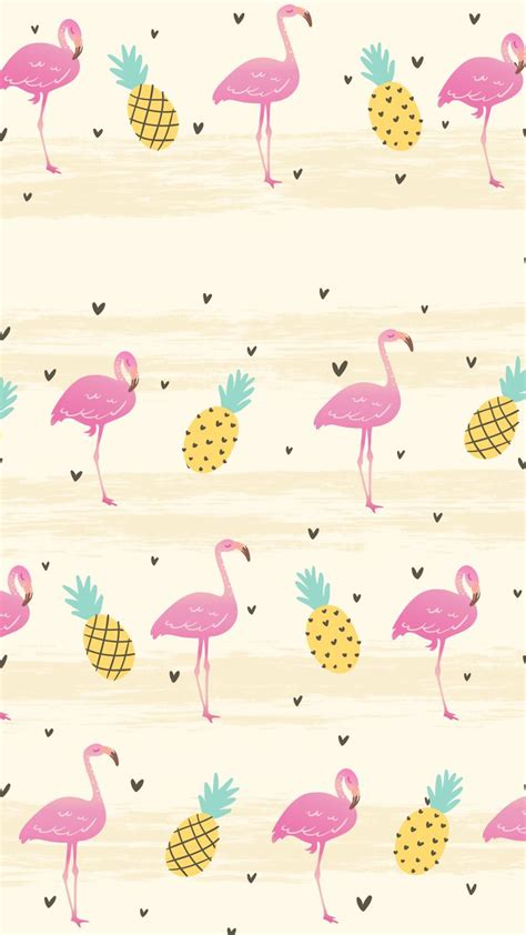 bird pink wrapping paper pattern clip art flamingo