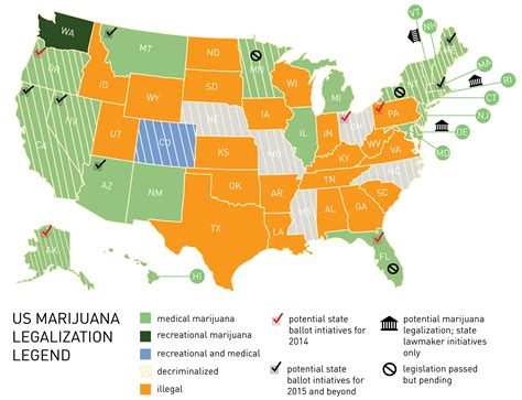 states with legal weed marijuana legalization map canna law blog