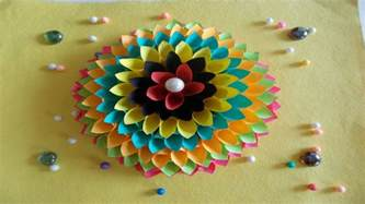 Crafts To Decorate Your Home easy diy home decor ideas how to make wall decoration with paper