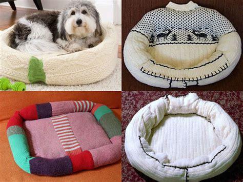 cuscino per cani fai da te cuccia fai da te riciclando un vecchio maglione fai da
