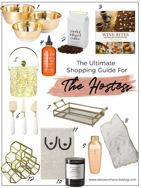 Gift Guide Emotional Detox by The Ultimate Gift Guide For The Hostess Detox On The Rocks