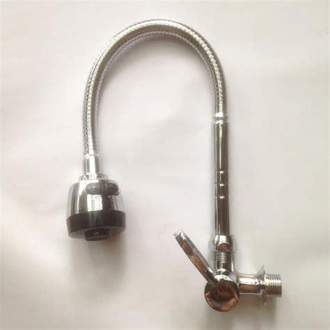 Kran Air Angsa Sink Cuci Piring Flexibel Model Meja Wastafel jual keran air kran leher angsa fleksibel