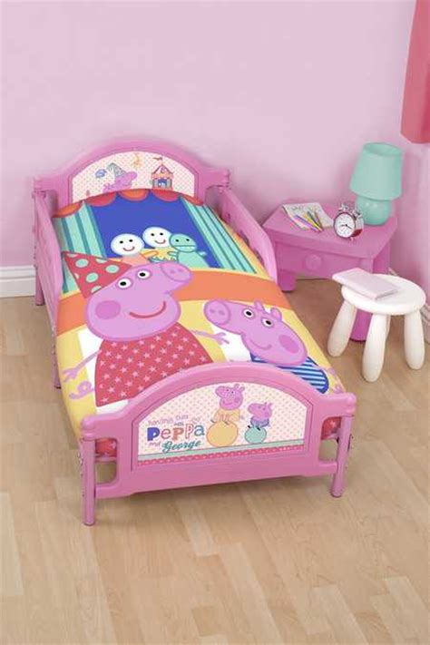 peppa pig bedroom sets peppa pig junior funfair toddler bed set 100 official