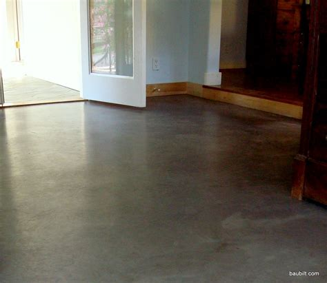 creating concrete floors