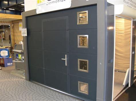 porte de garage sectionnelle avec portillon 2372 porte de garage sectionnelle lat 233 rale avec portillon l