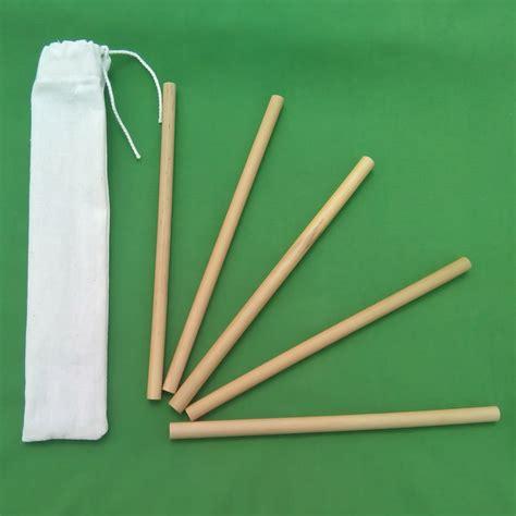 Bamboo Handmade - handmade bamboo straws 4 x 20cm straws