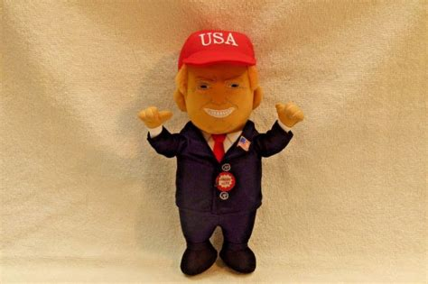 donald j 12 talking doll talking president shop collectibles daily