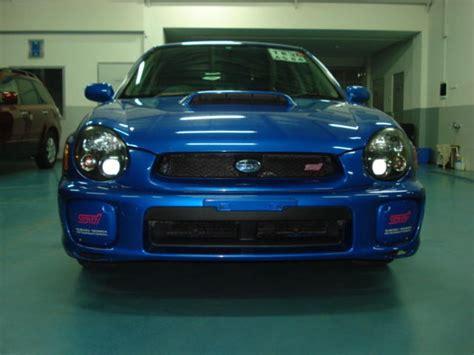 Subaru Wrx Sti 2002 by 2002 Subaru Impreza Wrx Sti For Sale