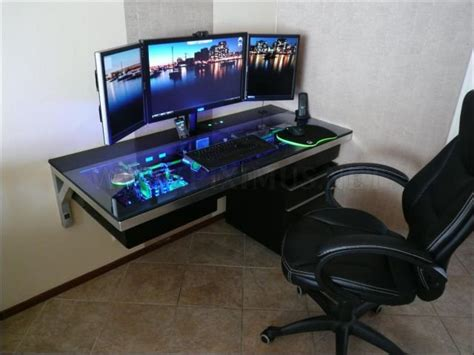 Incredible Custom Built Computer Desk Mod Others Computer Desk Mod