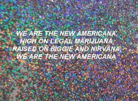 halsey new americana official lyrics new americana halsey just add music pinterest