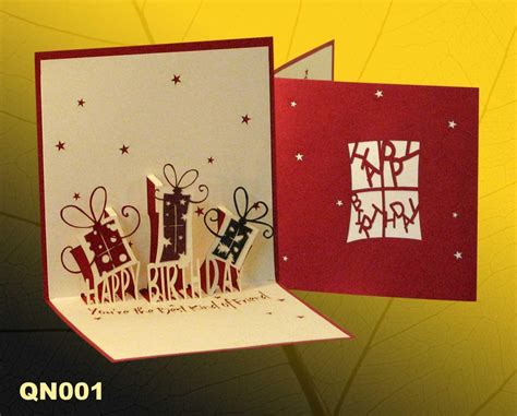 Handmade Pop Up Cards For Birthday - birthday gift handmade pop up greeting cards birthday
