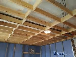 ossature plafond pour gyproc